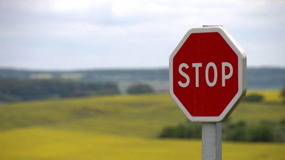 stopbord verkeer