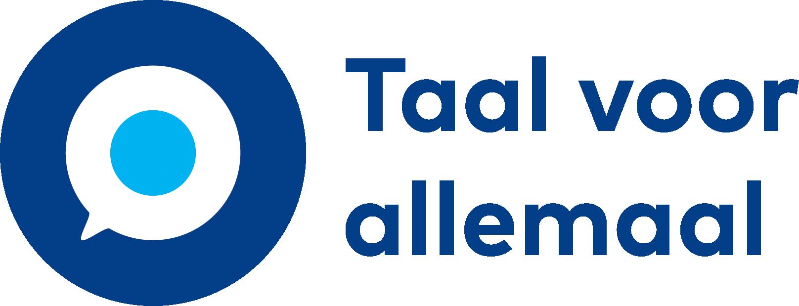 Taal voor allemaal logo